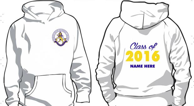 Order hoodies for 2016