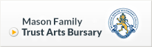Mason Family Trust Arts Bursary