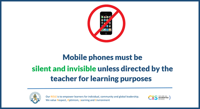 Dealing With Invisible Learning >> Bssc S Mobile Phone Policy Silent And Invisible Bendigo Senior